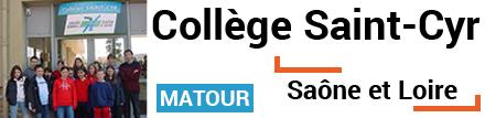 Collège Saint Cyr de Matour