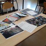 Documentation apportée par les bénévoles de Sea Shepherd pour occuper les groupes qui attendent leur tour.