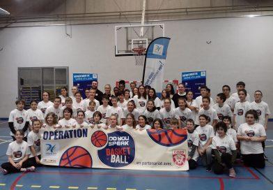Séance Basket avec les joueuses du CBBS
