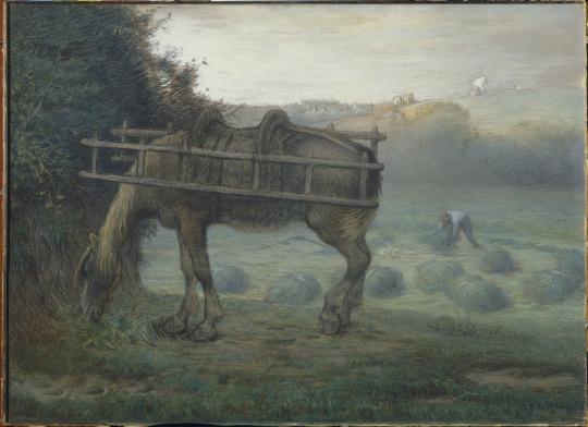 Cheval du paysan